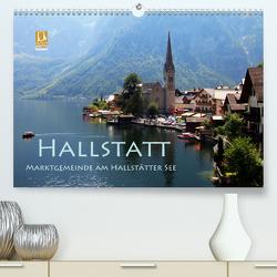 Hallstatt, Marktgemeinde am Hallstätter See (Premium, hochwertiger DIN A2 Wandkalender 2020, Kunstdruck in Hochglanz) von Seidl,  Helene