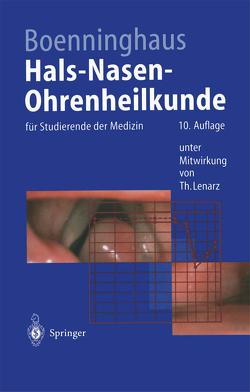 Hals-Nasen-Ohrenheilkunde von Boenninghaus,  Professor Dr. med. Hans-Georg