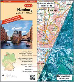Hamburg von BKG - Bundesamt für Kartographie und Geodäsie