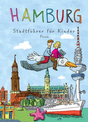 Hamburg. Stadtführer für Kinder von Lengenfelder,  Michel, Sander,  Kathrin