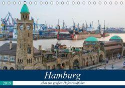 Hamburg – Ahoi zur großen Hafenrundfahrt (Tischkalender 2019 DIN A5 quer) von Krug,  Gabriele