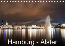 Hamburg – Alster (Tischkalender 2018 DIN A5 quer) von Enders,  Borg