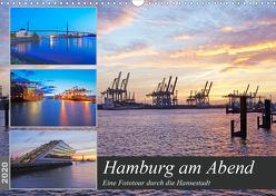 Hamburg am Abend (Wandkalender 2020 DIN A3 quer) von Schulz,  Olaf