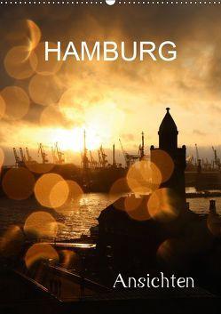 HAMBURG – Ansichten (Wandkalender 2019 DIN A2 hoch) von Brix - Studio Brix,  Matthias