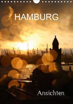HAMBURG – Ansichten (Wandkalender 2019 DIN A4 hoch) von Brix - Studio Brix,  Matthias