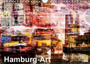 Hamburg-Art (Wandkalender 2019 DIN A4 quer) von Jordan,  Karsten