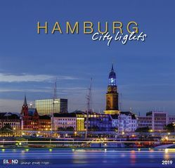 Hamburg City Lights Edition – Kalender 2019 von Eiland