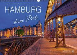 HAMBURG – Deine Perle (Wandkalender 2018 DIN A3 quer) von Hamburg / Tobias Meslien,  Photobia