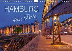 HAMBURG – Deine Perle (Wandkalender 2018 DIN A4 quer) von Hamburg / Tobias Meslien,  Photobia