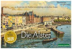 Hamburg – Die Alster von Engel,  Jochen