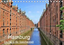 Hamburg – Ein Tag in der Speicherstadt (Tischkalender 2019 DIN A5 quer) von Klatt,  Arno