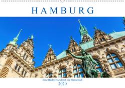 Hamburg – eine Bilderreise durch die Hansestadt (Premium, hochwertiger DIN A2 Wandkalender 2020, Kunstdruck in Hochglanz) von Müller,  Christian