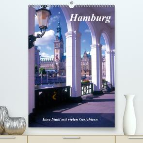 Hamburg – Eine Stadt mit vielen Gesichtern (Premium, hochwertiger DIN A2 Wandkalender 2021, Kunstdruck in Hochglanz) von Reupert,  Lothar