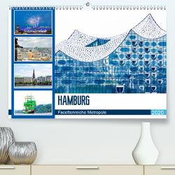 Hamburg – facettenreiche Metropole (Premium, hochwertiger DIN A2 Wandkalender 2020, Kunstdruck in Hochglanz) von Schwarze,  Nina