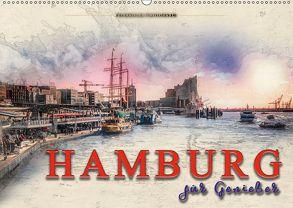 Hamburg für Genießer (Wandkalender 2018 DIN A2 quer) von Roder,  Peter