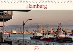 Hamburg Hafen (Tischkalender 2019 DIN A5 quer) von Pompsch,  Heinz