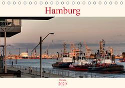 Hamburg Hafen (Tischkalender 2020 DIN A5 quer) von Pompsch,  Heinz
