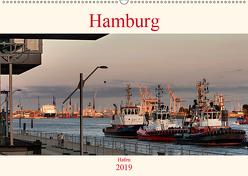 Hamburg Hafen (Wandkalender 2019 DIN A2 quer) von Pompsch,  Heinz