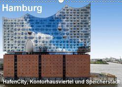 Hamburg. HafenCity, Kontorhausviertel und Speicherstadt. (Wandkalender 2019 DIN A3 quer) von Seethaler Fotografie,  Thomas
