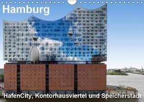 Hamburg. HafenCity, Kontorhausviertel und Speicherstadt. (Wandkalender 2019 DIN A4 quer) von Seethaler Fotografie,  Thomas