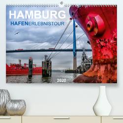 Hamburg Hafenerlebinstour(Premium, hochwertiger DIN A2 Wandkalender 2020, Kunstdruck in Hochglanz) von Falke,  Manuela
