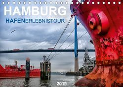 Hamburg Hafenerlebinstour (Tischkalender 2019 DIN A5 quer) von Falke,  Manuela