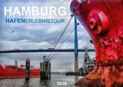 Hamburg Hafenerlebinstour (Wandkalender 2019 DIN A2 quer) von Falke,  Manuela