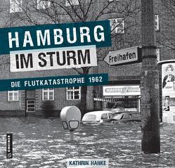 Hamburg im Sturm von Hanke,  Kathrin