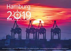 Hamburg Kalender 2019 (Wandkalender DIN A3) von Joachim,  Fischer