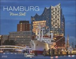 Hamburg Kalender 2022 von Eiland