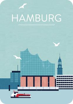 Hamburg. Magnet von Reinke,  Katinka