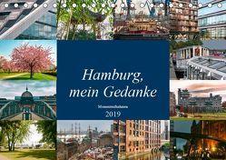 Hamburg, mein Gedanke (Tischkalender 2019 DIN A5 quer) von Steiner / Matthias Konrad,  Carmen