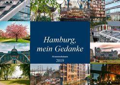 Hamburg, mein Gedanke (Wandkalender 2019 DIN A4 quer) von Steiner / Matthias Konrad,  Carmen