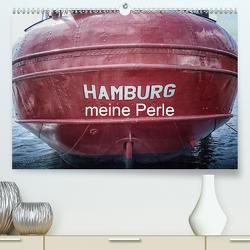 Hamburg meine Perle (Premium, hochwertiger DIN A2 Wandkalender 2021, Kunstdruck in Hochglanz) von Billermoker