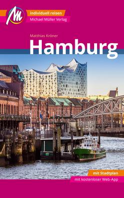 Hamburg MM-City Reiseführer Michael Müller Verlag von Kröner,  Matthias