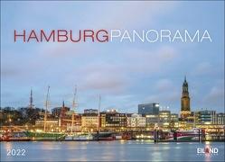 Hamburg Panorama Kalender 2022 von Eiland