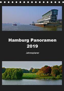 Hamburg Panoramen 2019 • Jahresplaner (Tischkalender 2019 DIN A5 hoch) von © Mirko Weigt,  Fotos, Hamburg