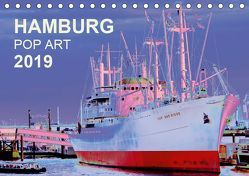 HAMBURG POP ART 2019 (Tischkalender 2019 DIN A5 quer) von Schattschneider kerstin.schattschneider@web.de,  Kerstin
