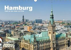 Hamburg Stadt an der Alster und Elbe (Wandkalender 2019 DIN A3 quer) von Voigt,  Andreas