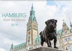 Hamburg – Stadt der Möpse (Wandkalender 2018 DIN A2 quer) von und Julia Dodeck,  Ole