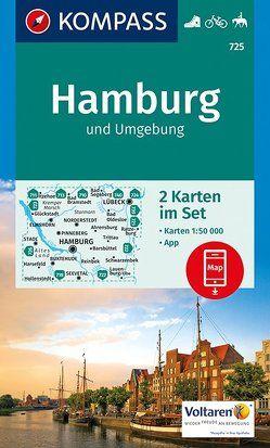 Hamburg und Umgebung von KOMPASS-Karten GmbH