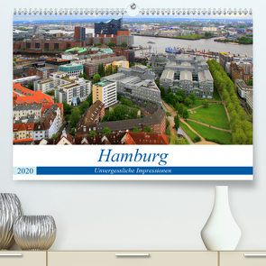 Hamburg – Unvergessliche Impressionen (Premium, hochwertiger DIN A2 Wandkalender 2020, Kunstdruck in Hochglanz) von Klatt,  Arno