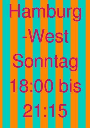 Hamburg-West Sonntag 18:00 bis 21:15 von Fahrern,  Allen