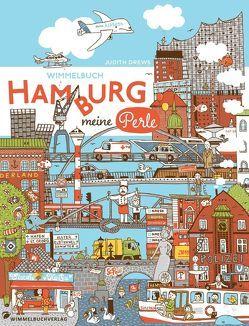 Hamburg Wimmelbuch von Drews,  Judith