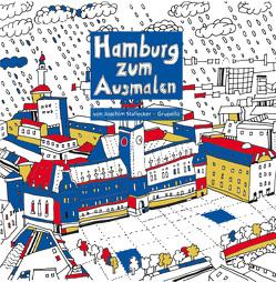 Hamburg zum Ausmalen von Stallecker,  Joachim