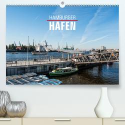 Hamburger Hafen (Premium, hochwertiger DIN A2 Wandkalender 2021, Kunstdruck in Hochglanz) von Kerpa,  Ralph