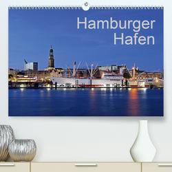 Hamburger Hafen (Premium, hochwertiger DIN A2 Wandkalender 2021, Kunstdruck in Hochglanz) von Hasche,  Joachim