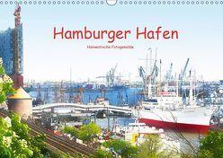 Hamburger Hafen (Wandkalender 2019 DIN A3 quer) von Steiner / Matthias Konrad,  Carmen