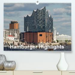 Hamburger Highlights (Premium, hochwertiger DIN A2 Wandkalender 2020, Kunstdruck in Hochglanz) von Seethaler,  Thomas