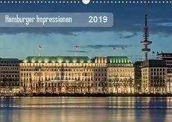 Hamburger Impressionen 2019 (Wandkalender 2019 DIN A3 quer) von Kolfenbach,  Klaus